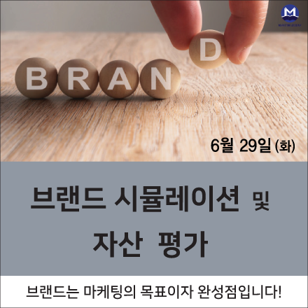브랜드자산평가과정